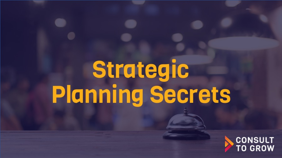 Strategic Planning Secrets Cover Photo