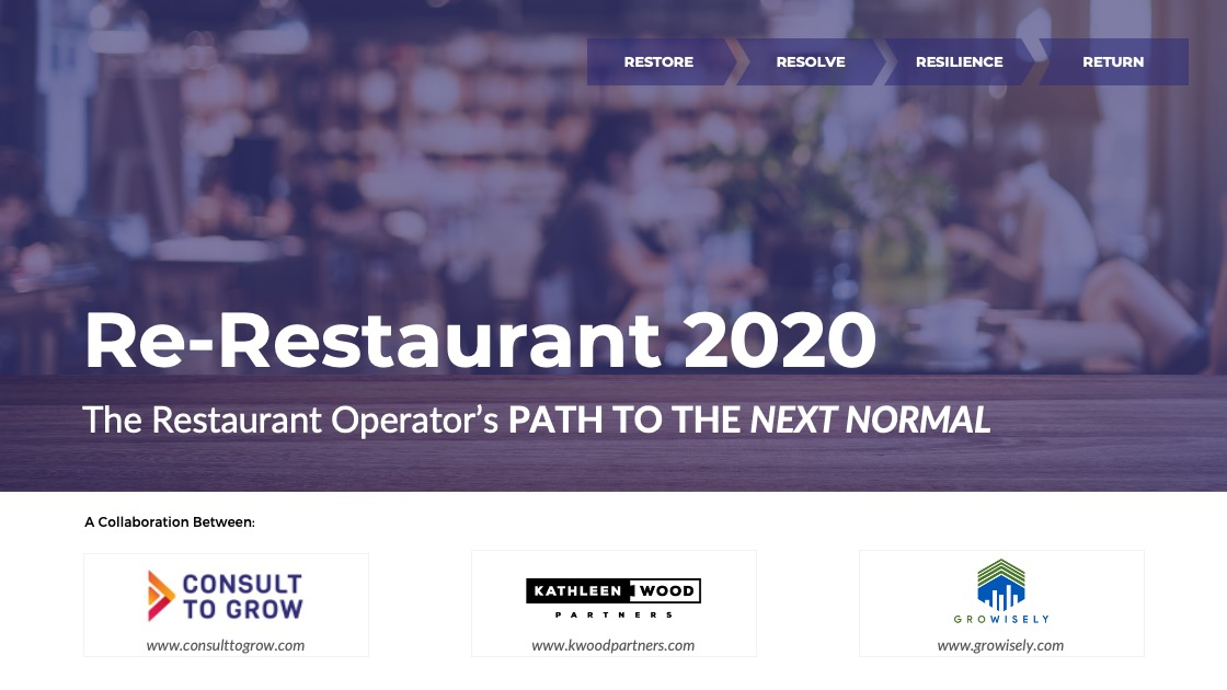 ReRestaurant 2020 A Path to the Next Normal
