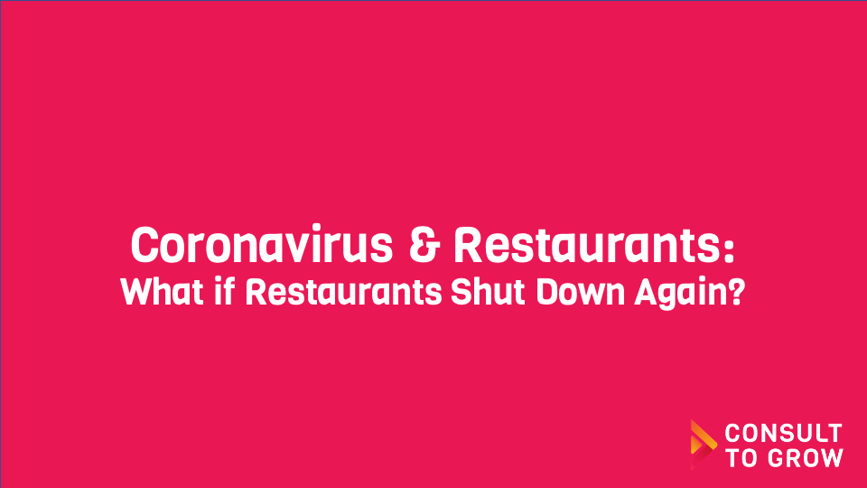 Restaurant Shut Down Again