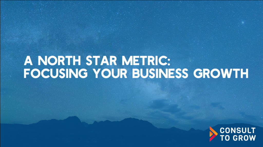 A North Star Metric: Focusing Your Business Growth