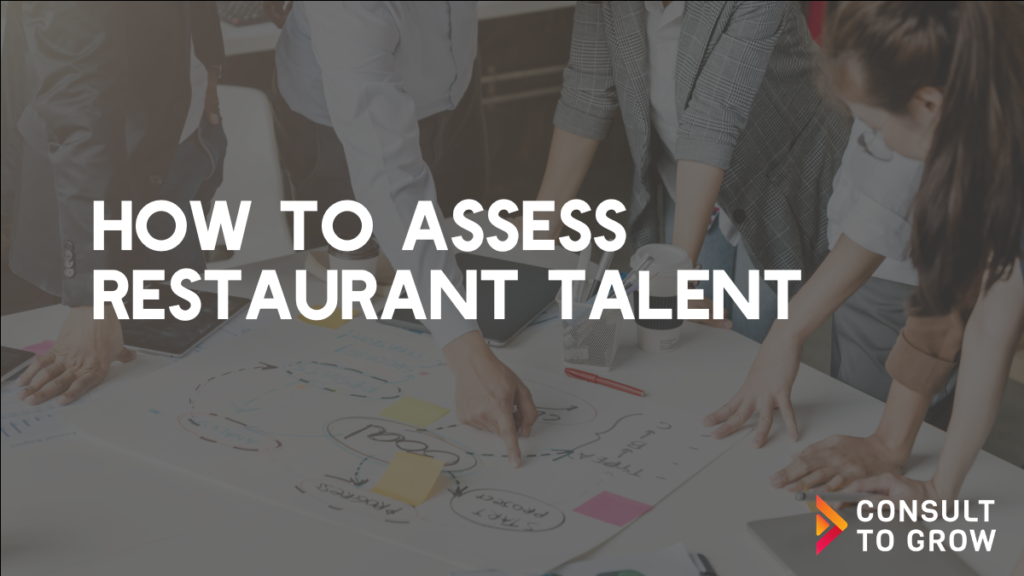 Assessing Restaurant Talent